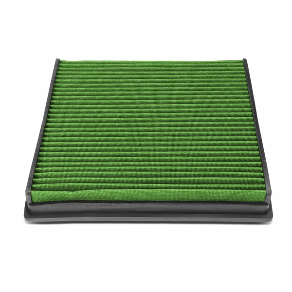 Audi A6 A7 C7 4G Reusable Replacement Engine High Flow Air Filter (Green)
