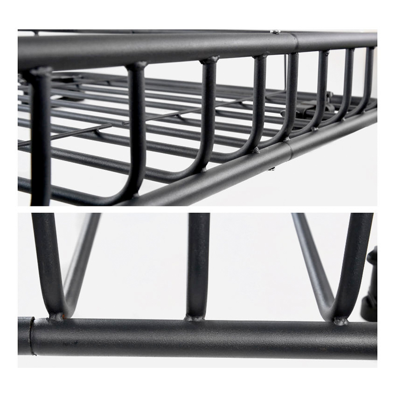 Black Steel Made Heavy Duty Cargo Carrier Top Luggage Roof