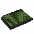 BMW 3-Series E46 Reusable & Washable Replacement High Flow Drop-in Air Filter (Green)
