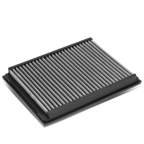 BMW 3-Series E46 Reusable & Washable Replacement High Flow Drop-in Air Filter (Silver)
