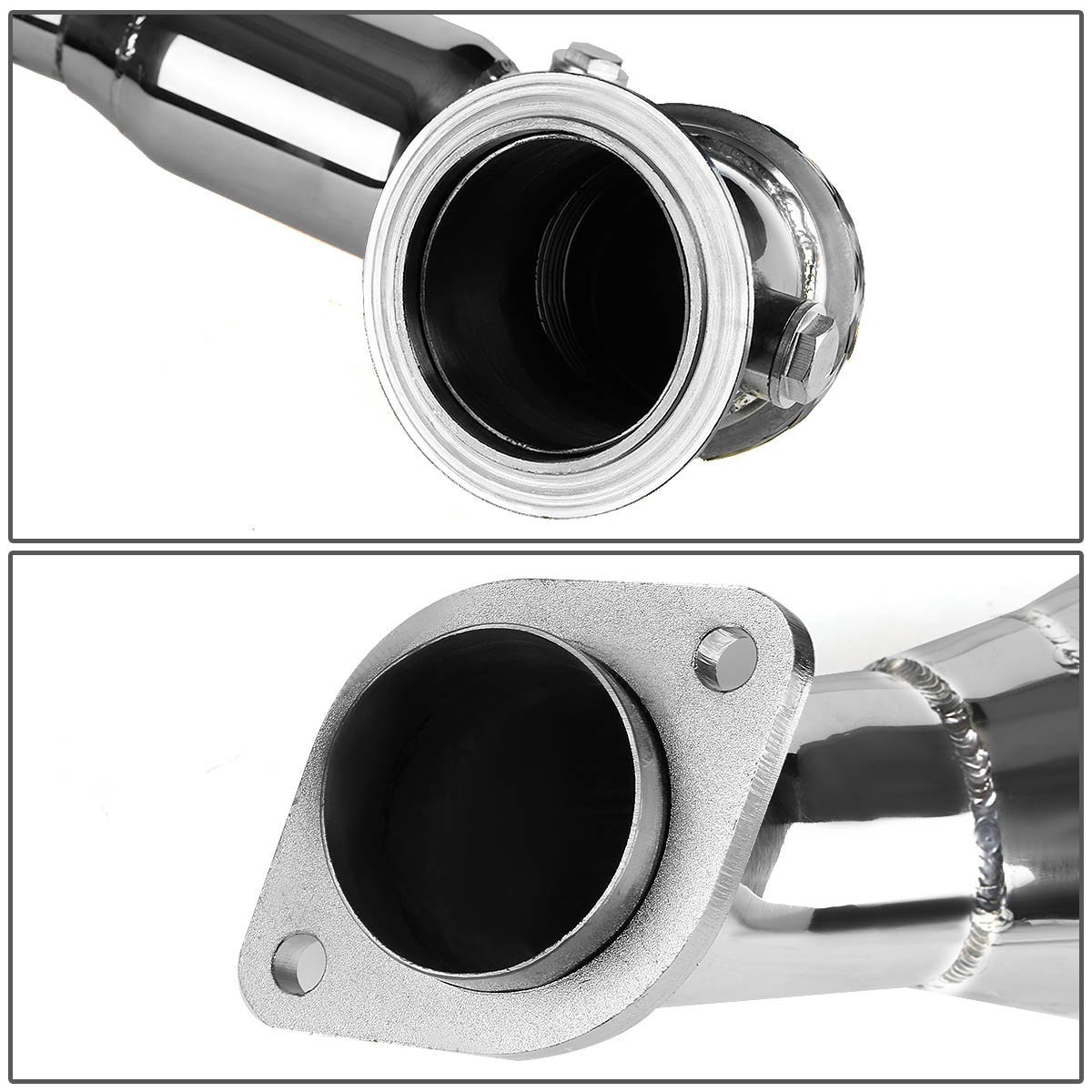 BMW 5/7 Series N63 4 4L V8 Stainless Steel Exhaust Turbo Downpipe