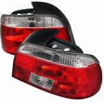 BMW E39 5-Series 97-00 Crystal Altezza Tail Lights - Red Clear