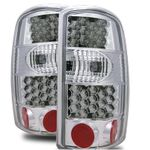 CG 00-06 Chevy Suburban/Tahoe/GMC Suburban LED Chrome Clear Tail Lights
