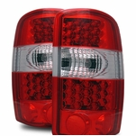 CG 00-06 Chevy Suburban/Tahoe/GMC Suburban LED Red Clear Tail Lights