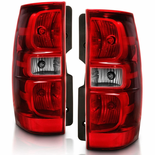 CG® 07-13 Chevy Tahoe/Suburban OE Style Replacement Tail Lights - Red
