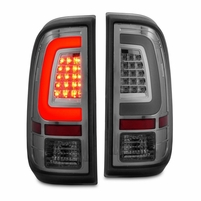 CG� 08-16 Ford F250 F350 F450 SuperDuty C-Tube LED Tail Lights - Smoked