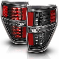 CG 09-14 Ford F-150 Replacement LED Tail Lights - Black
