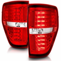 CG 09-14 Ford F-150 Replacement LED Tail Lights - Red