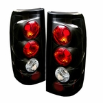 Chevy Silverado 99-02 Altezza Tail Lights Version 2 - Black ALT-YD-CS99-G2-BK By Spyder