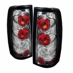 Chevy Silverado 99-02 Altezza Tail Lights Version 2 - Chrome ALT-YD-CS99-G2-C By Spyder