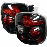Chevy Silverado Stepside 99-04 Altezza Tail Lights - Black ALT-YD-CS99STS-BK By Spyder