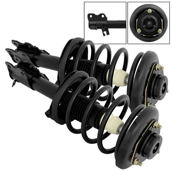 Complete Strut Assemblies with Mounts Front Pair for 2000-01 Infiniti I30