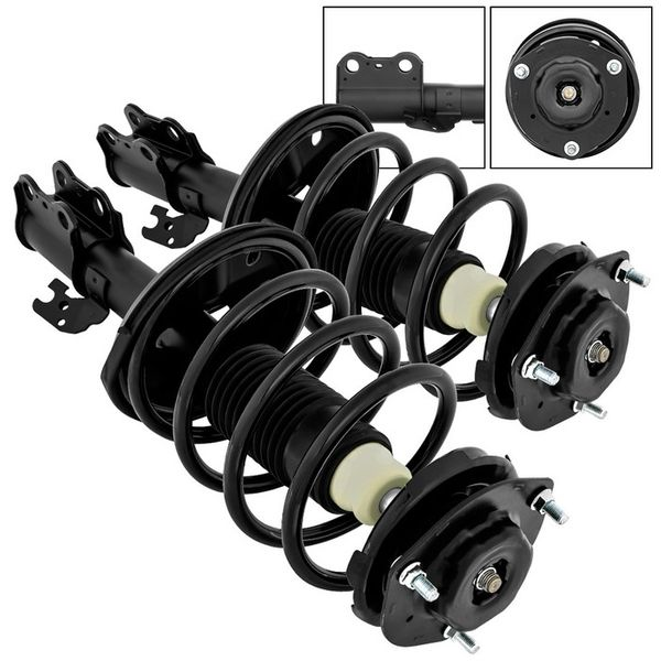 Complete Struts Assembly Gas Shocks 2002-2003 Toyota Camry Front Pair