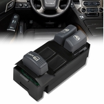 DNA® 1995-1999  Chevy CK Pick Up 2 Dr Factory Style Driver Side Master Power Window Lifter Switch,Black