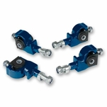 DNA Honda Accord / Civic / Integra / Prelude / CRX Adjustable Steel Front-Suspension Camber Adjuster Kit - Blue