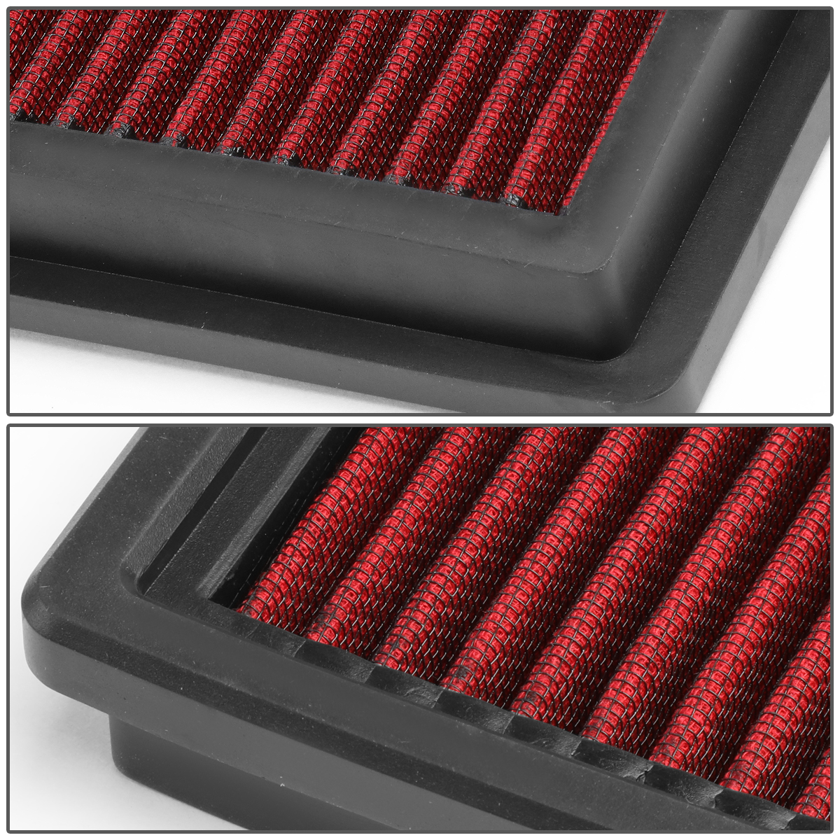 Washable Drop-In Replacement Red Air Intake Filter for 11-17 Charger//Challenger