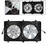 Dual Cooling Fan for 03-07 Honda Accord 2.4L w/ Nippondenso Radiator