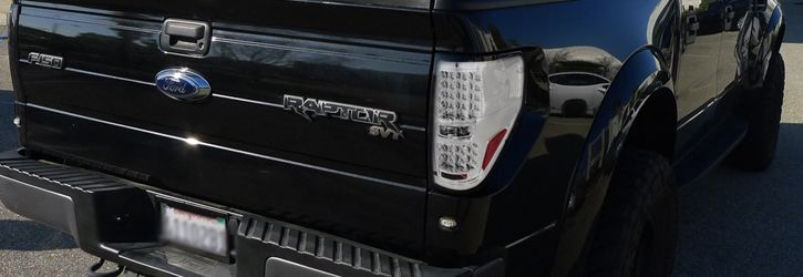 Ford F150 Pickup Euro Altezza LED Tail Lights