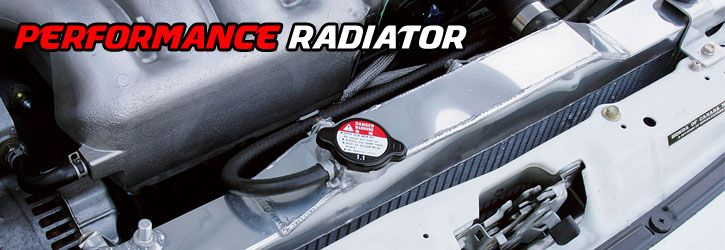 Ford OEM Replacement / Performance Cooling Aluminum Radiator