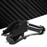 Ford 99-03 F250 F350 7.3L V8 Gloss Black Cold Air Intake Induction+Heat Shield+Filter