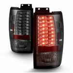 Ford Expedition 97-02 LED Altezza Tail Lights - Smoked