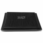 Ford F-Series / Excursion / Expedition / Mark LT Reusable & Washable Replacement High Flow Drop-in Air Filter (Black)