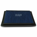 Ford F-Series / Excursion / Expedition / Mark LT Reusable & Washable Replacement High Flow Drop-in Air Filter (Blue)