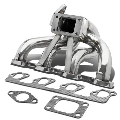Ford Focus/Mazda B2300 Stainless Steel T3 Turbo Manifold with 35mm/38mm Wastegate Port