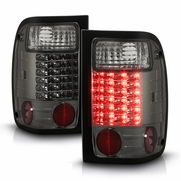 Ford Ranger 98-01 LED Altezza Tail Lights - Smoked