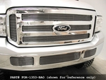 Grillcraft BG Series For-1354-Bao 05-06 Ford Excursion Bumper Center Billet Grille (With Fog Lamps) Boltover