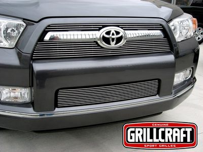 Grillcraft BG Series Toy-1920-Bao 10-13 Toyota 4-Runner Upper Billet Grille 2Pc Boltover