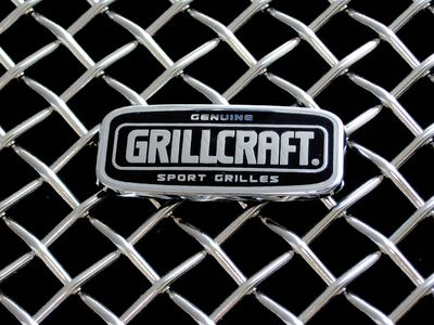Grillcraft Mx-Series F1359-57S 08-10 Ford Super-Duty Fx4 Grille Upper 3Pc (Factory Large Opening) + Fender Vent Grilles (2Pc Insert) Silver