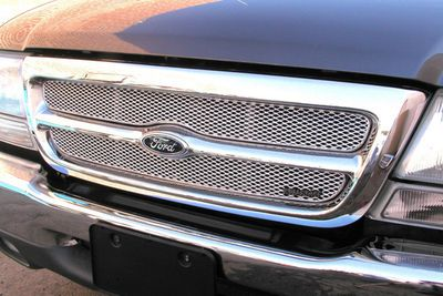 Grillcraft Mx-Series For-1000-S 98-00 Ford Ranger (2Wd) Grille Upper 2Pc Silver