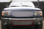 Grillcraft Mx-Series For-1101-S 98-99 Ford Explorer (Sport 2Dr) Bumper Insert Silver