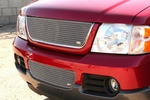 Grillcraft Mx-Series For-1105-S 02-05 Ford Explorer 4Dr Grille Upper Silver