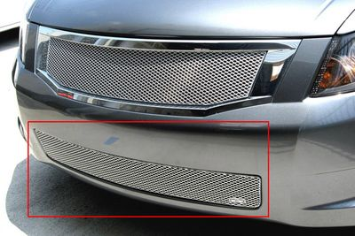 Grillcraft Mx-Series Hon-1159-S 08-10 Honda Accord 4Dr Grille Lower (Center Only) V6 Model Silver