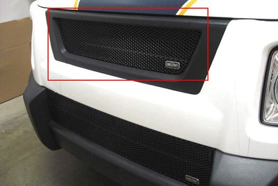 Grillcraft Mx-Series Hon-1200-B 03-06 Honda Element Grille Upper Insert (Will Not Fit Sc Modell) Black