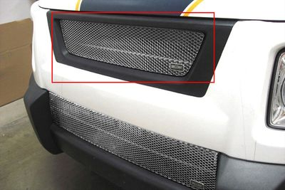 Grillcraft Mx-Series Hon-1200-S 03-06 Honda Element Grille Upper Insert (Will Not Fit Sc Modell) Silver