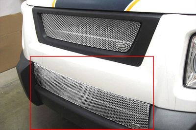 Grillcraft Mx-Series Hon-1201-S 03-08 Honda Element Grille Lower Insert (Will Not Fit Sc Modell) Silver