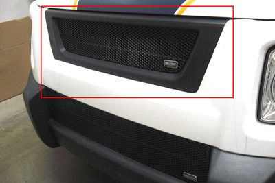 Grillcraft Mx-Series Hon-1202-B 07-08 Honda Element Grille Upper Insert (Will Not Fit Sc Modell) Black