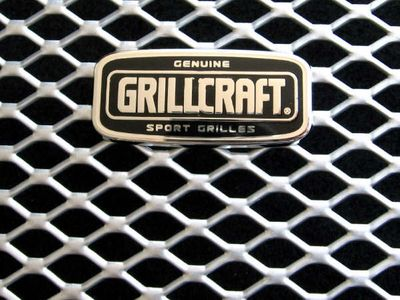 Grillcraft Mx-Series Hon-1211-S 06-08 Honda Ridegeline Grille Lower (Center Only) Silver
