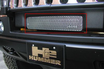 Grillcraft Mx-Series Hum-2501-S 03-07 Hummer H2 Grille Lower Silver