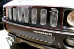 Grillcraft Mx-Series Hum-2503-S 06-10 Hummer H3 Grille Upper Silver