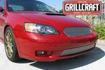 Grillcraft Mx-Series Sub-1729-S 05-07 Subaru Legacy - Grille Upper Insert (Will Not Fit Wagon Models) Silver