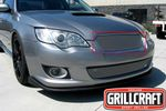 Grillcraft Mx-Series Sub-1731-S 08-09 Subaru Legacy - Grille Upper Insert Silver