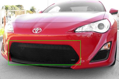 Grillcraft Mx-Series Toy-1840-B 2013 Scion Scion Fr-S Grille Lower (Center Only) Black