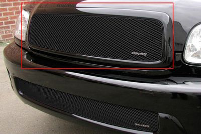 Grillcraft Mx-Series Toy-1930-B 01-04 Toyota Sequoia Grille Upper Insert Black