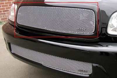 Grillcraft Mx-Series Toy-1930-S 01-04 Toyota Sequoia Grille Upper Insert Silver