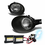HID Xenon + 02-08 Dodge Ram 1500 / 03-09 2500 3500 [Steel Bumper Model] Fog Lights Kit - Clear