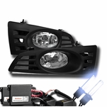 HID Xenon + 03-05 Honda Accord 2-Door Coupe Fog Lights Kit - Clear